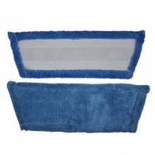 Запаска для полотера микрофибра на липучке
