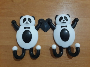 "Крючки пластмас.""панда"""