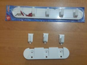 Крючки пластмассовые ANSA (5)