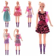 Кукла 27 см, сумочка, в кульке 26-7-3см