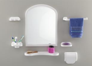 Набор д/ванной с зеркалом AQUA