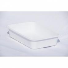 Лоток для пищевых продуктов белый № 0 Ал-пластик
