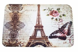 """Коврик для душа на присосках """"Париж"""""""