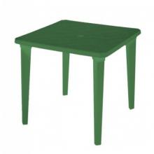 "Стол квадратный пластмассовый 80х80 см. зеленый ""Алеана"""