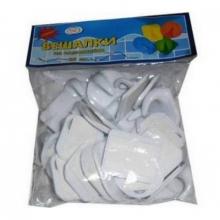 Крючки пластмассовые на самоклейке большие (1) в упаковке 25шт.