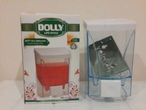 Дозатор для жидкого мыла прозрачный Dolly 0.5л.