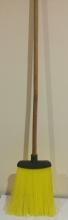 Метла для улицы+кий деревянный (плоская)