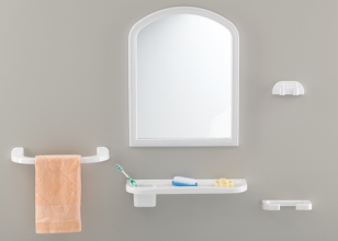 Набор д/ванной с зеркалом BOGAZICI