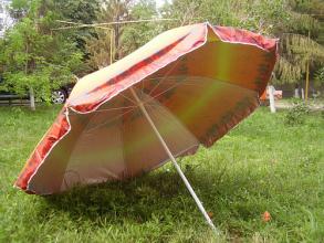 """Зонт пляжный d2.5м система """"Ромашка"""""""