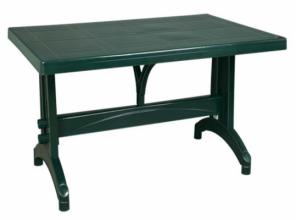 Стол пластмассовый 80х140 см. зеленый