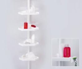 Полка для ванной Prima Nova на пластмассовой трубе