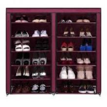 Шкаф обувной текстильный 118*30*120 см